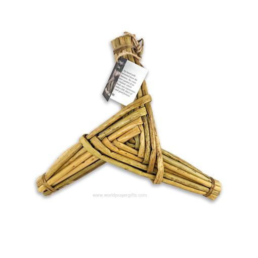 """10"""" 3 Arm Saint Brigid's Cross"""