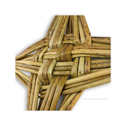 "12"" Celtic Saint Brigid's Cross - Close Up"