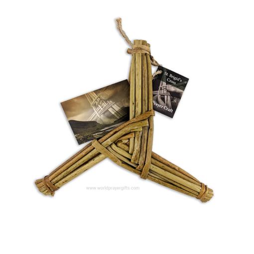 """8.5"""" 3 Arm Saint Brigid's Cross"""
