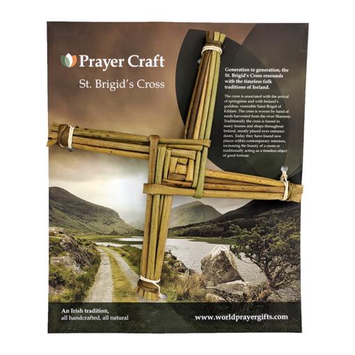 """9.5"""" Saint Brigid's Cross"""