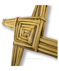 Handwoven Saint Brigid's Cross - 11 Inch