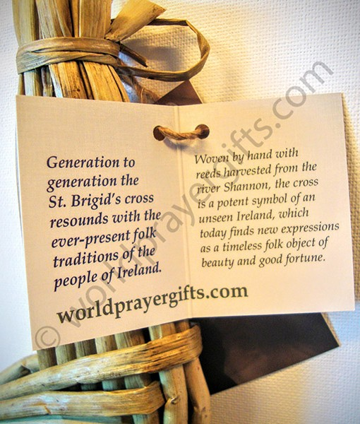 Irish Handmade Saint Brigid's Cross