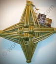 12″ Celtic Design Irish St Brigid's Woven Cross