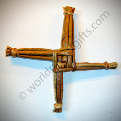 "6"" St Brigid's Woven Cross 
