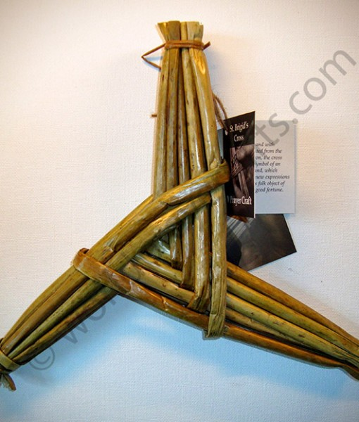 "8.5"" Three-Arm Saint Brigid's Cross"
