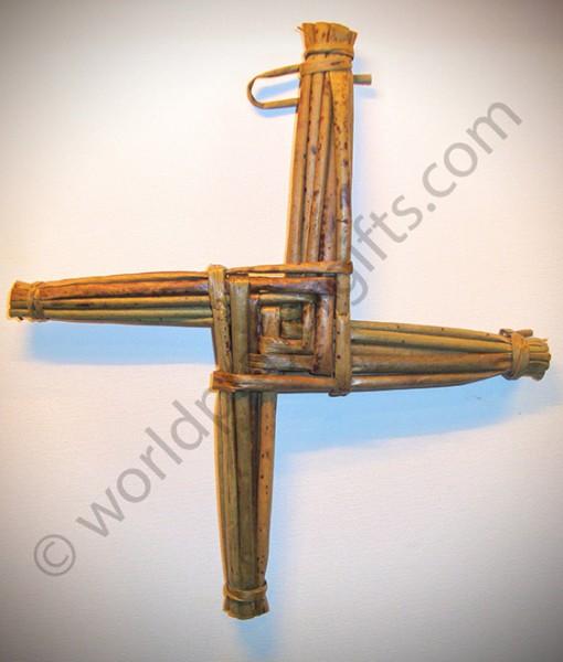 "9.5"" St Brigid's Woven Cross | Irish Handmade Saint Brigid's Cross"
