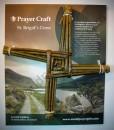 9.5″ St Brigid's Woven Cross | Irish Handmade Saint Brigid's Cross