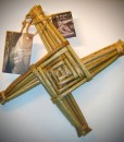 Saint Brigid's 11 Inch Handwoven Cross | Saint Brigid's Cross