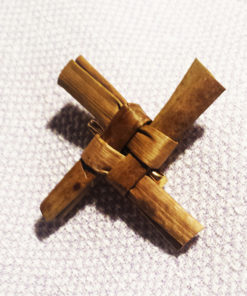 Handmade Saint Brigid's Cross Brooch