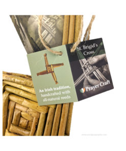 Saint Brigid's Cross Card