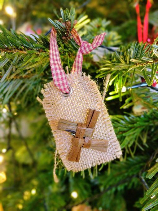 Saint Brigid's Cross Christmas Decoration