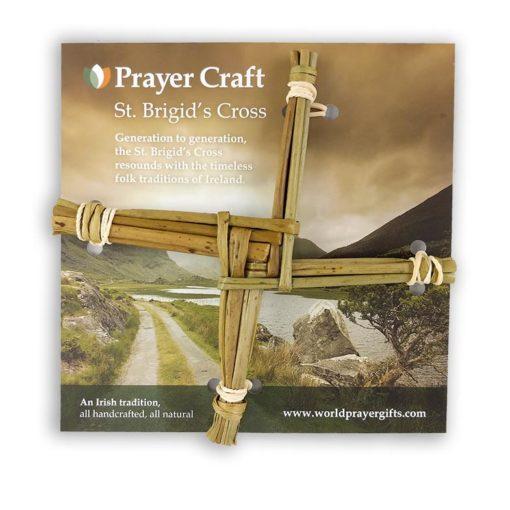 Handwoven Saint Brigids Cross - 6   Handmade in Ireland
