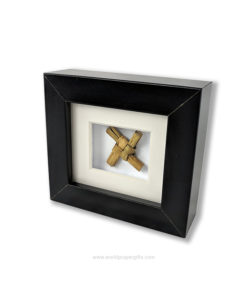 Miniature Framed Saint Brigid's Cross