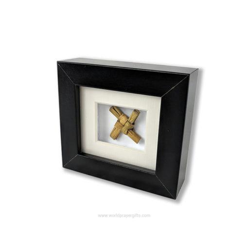 Miniature Framed Saint Brigid's Cross