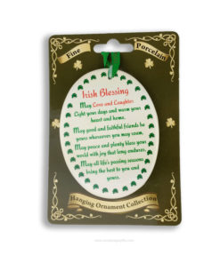 Irish Blessing with Shamrock Border - Irish Blessing with Shamrock Border