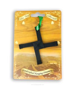 Handcrafted Turf St Brigids Cross | Hanging Saint Brigids Cross