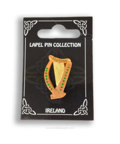 Irish Harp Pin | Unique Irish Gift | World Prayer Gifts