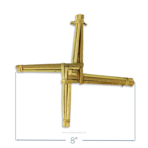 "Handmade Saint Brigid's Cross   8"" Cross"