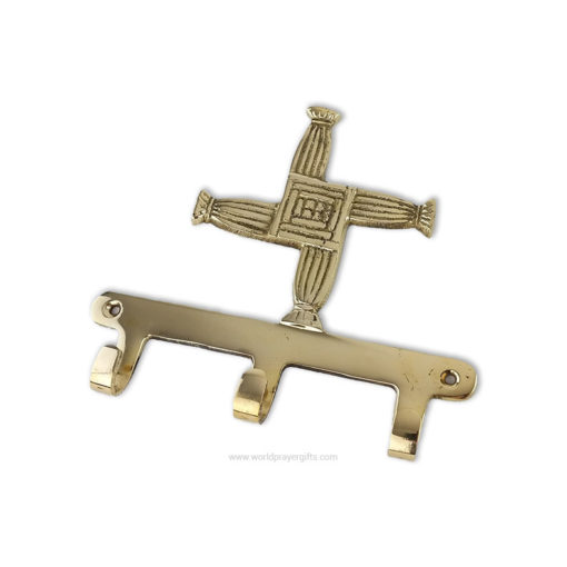 Saint Brigid's Cross Key Rack