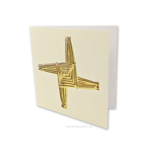 Saint Brigid Cross Card
