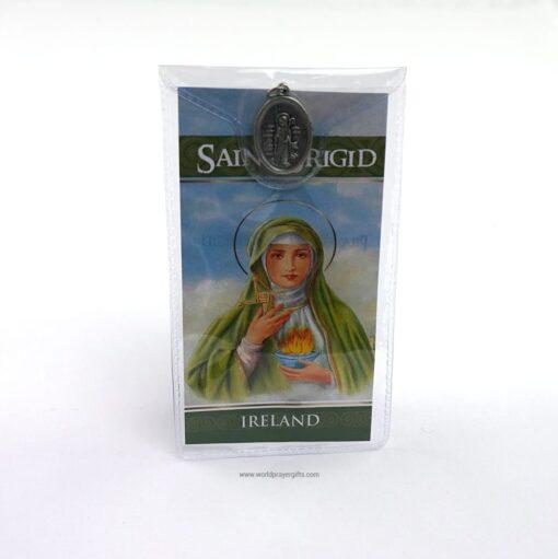 Saint Brigid Medal and Prayer Card | World Prayer Gifts